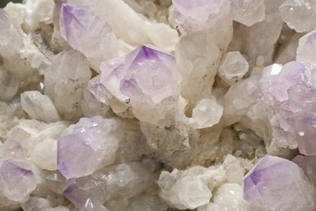 Rose quartz and Crystal  photo