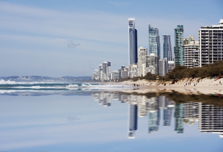 Queensland Gold Coast City Stock Photo - 16928866