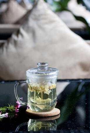 Scented tea photo