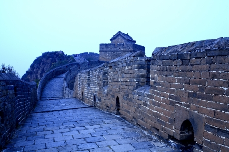Chinese ancient buildings, the Great Wall photo