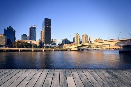 brisbane: Brisbane city in the afternoon Stock Photo
