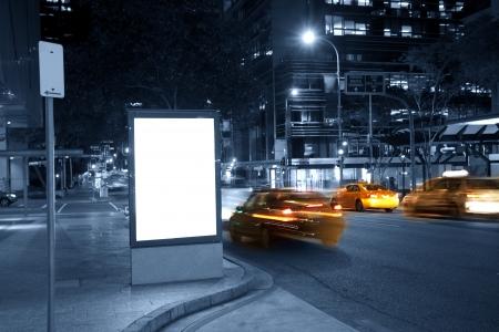City advertising light boxes Stock Photo - 18684469
