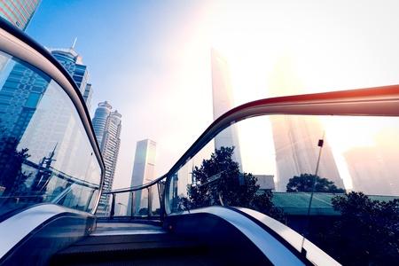 Shanghai city building 写真素材
