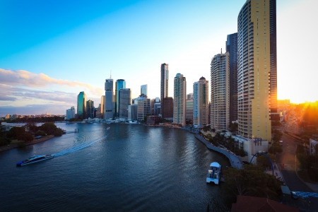city center: Brisbane City