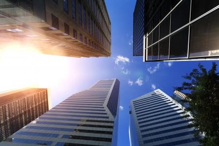 Brisbane, moderne urbane Architektur Standard-Bild