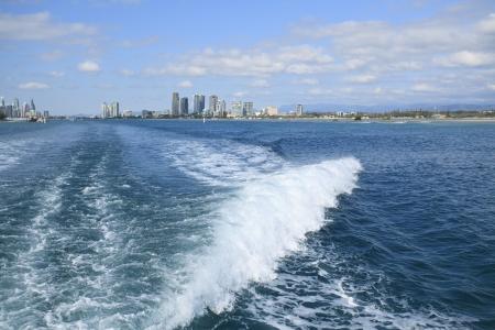 The coastline of the Gold Coast, Australia Stock Photo - 20360952