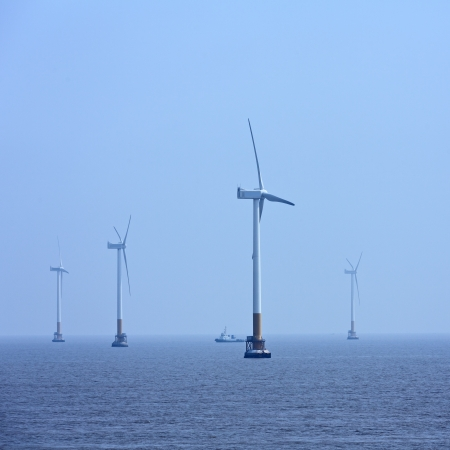Offshore wind energy photo