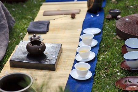 Japanese tea ceremony photo