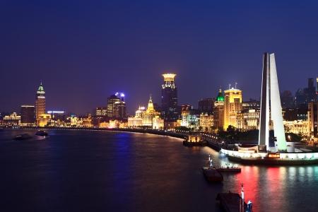 Shanghai international metropolis night