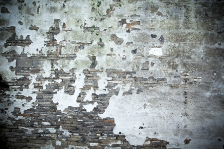 Mottled old wall photo
