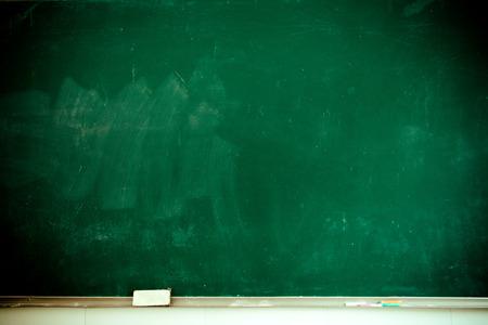 Schoolbord gedeeltelijke close