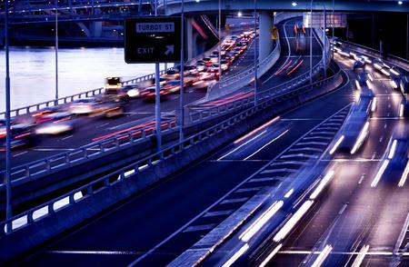 Brisbane city traffic Stock Photo