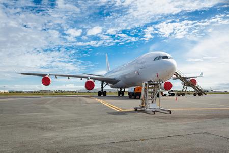 Aircraft on the tarmac