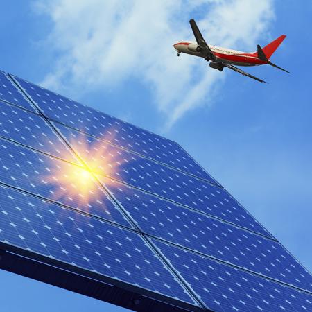 behalf: Photovoltaic and aircraft
