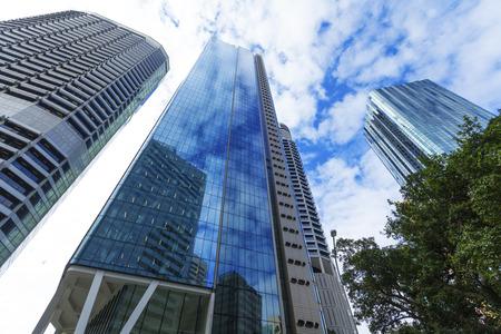 Buildings in Brisbane city