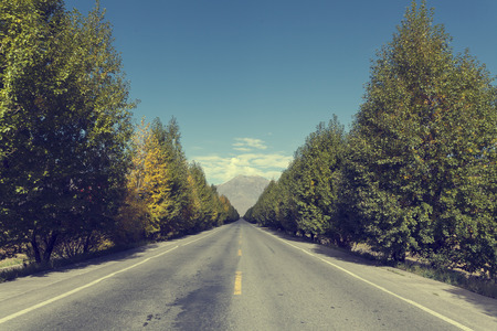 suburban: Suburban highway Stock Photo