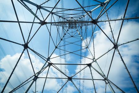 steel tower: Electricity steel tower