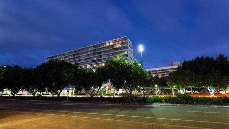 cairns: Queensland Cairns city, night Stock Photo