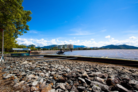 cairns: Queensland Cairns City Stock Photo