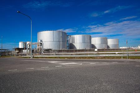 fuel storage: Brisbane industrial area, fuel storage
