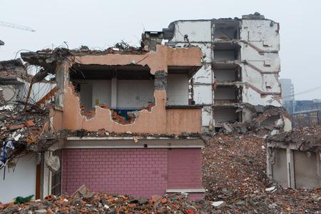 demolish: Abandoned buildings