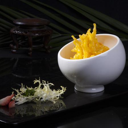 fine cuisine: Close up to a fine cuisine