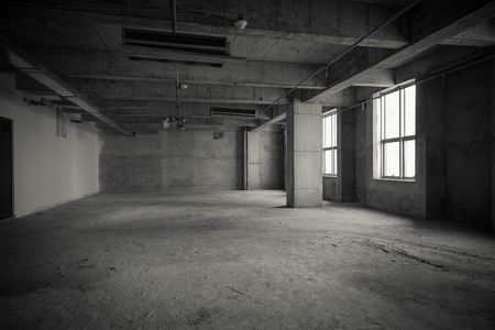 empty interior: Empty interior space