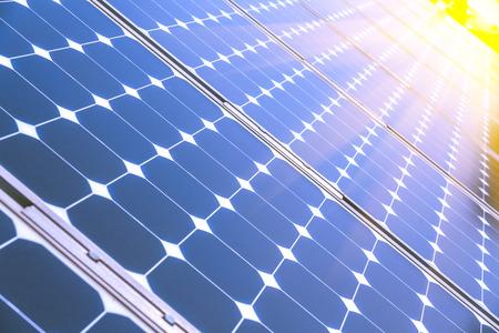 Pannelli fotovoltaici Archivio Fotografico - 42389764