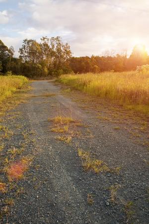 rancho: Ranch road in Queensland