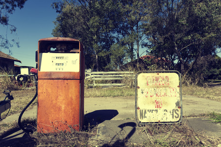 abandoned gas station: Abandoned gas station in Queensland