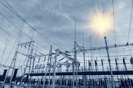isolator: Power production facilities in CHINA Stock Photo