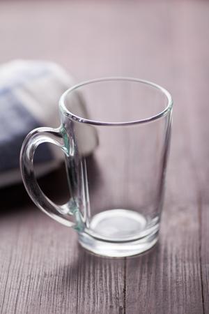 empty: Empty glass