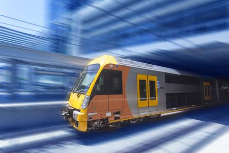 tren: Tráfico de la ciudad de Sydney