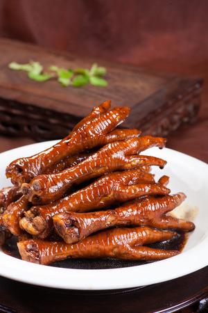 Cocina china - patas de pollo