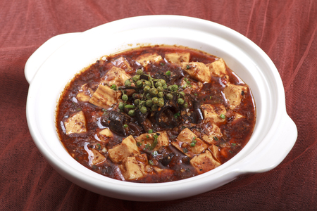 doufu: Mapo Tofu Stock Photo