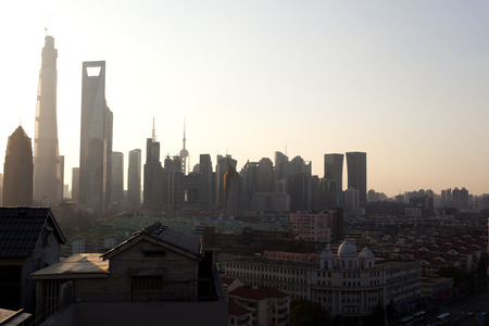 pudong: Shanghai Pudong buildings