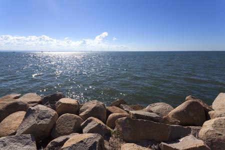 queensland: Queensland coastline Stock Photo