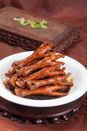 La comida china - patas de pollo