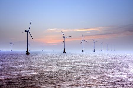 Offshore wind Archivio Fotografico