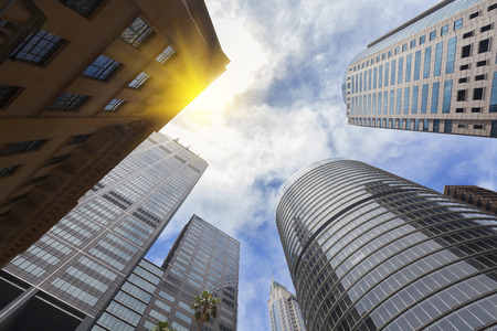 edificios de la ciudad de Sydney