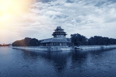 turret: Beijing Forbidden City turret