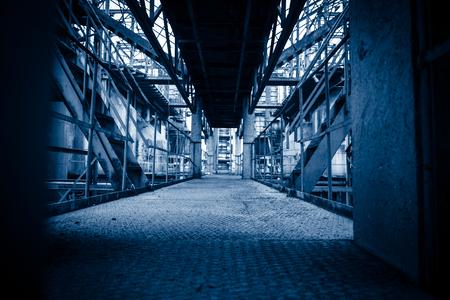 abandoned: Abandoned steel mill