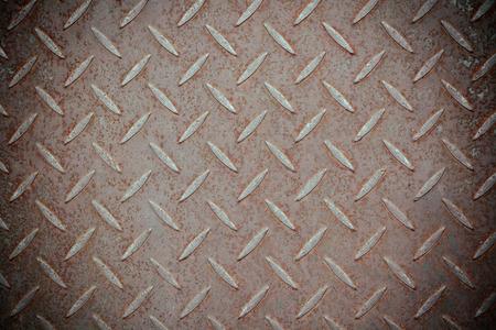 rough diamond: Rusty steel surface Stock Photo