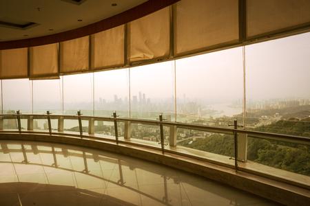 viewing: Architectural glass viewing platform, Chongqing