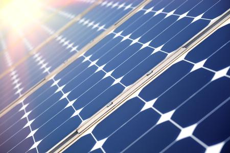 solar power plant: Solar panel