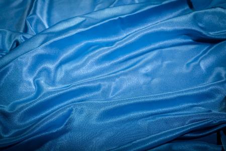 silk: Blue silk Stock Photo