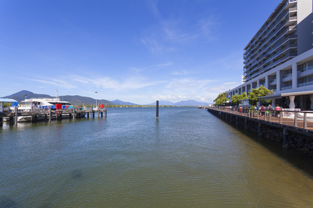 cairns: Australias famous tourist city of Cairns