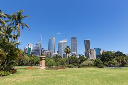 Summer Sydney City and Botanic Gardens