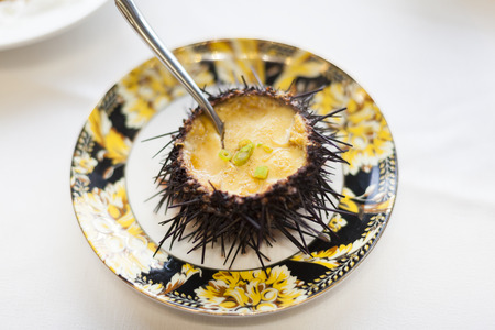 China Dalian, famous food Echinacea