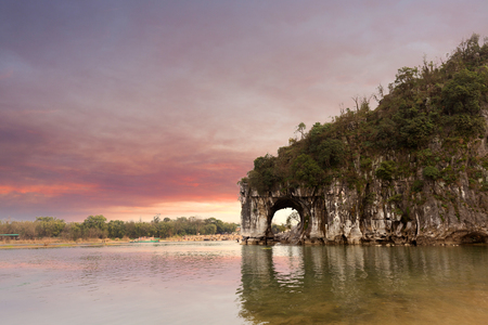 China Guilin, the famous natural landscape